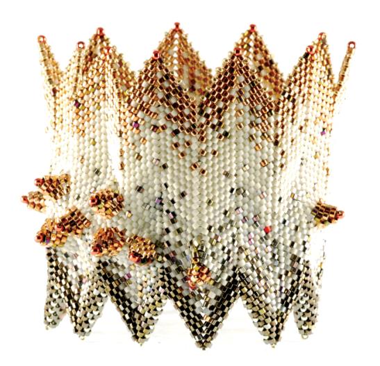 The Devil's Eggs Are Hatching, beadwork by Gabriella van Diepen