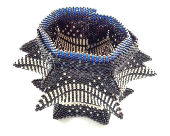 , beadwork by Kate McKinnon, from CGB Volume II, 2013