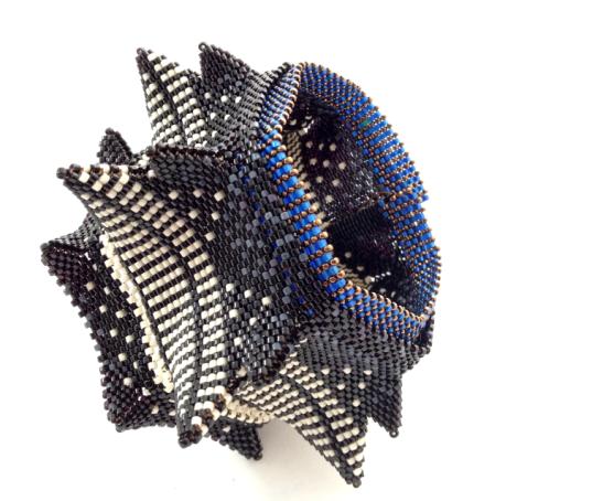 Pagoda Underskirts, beadwork by Kate McKinnon from CGB, Volume II, 2013