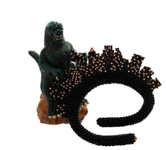 Godzilla and Cityscape web