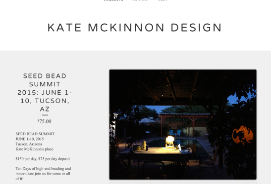Kate McKinnon: Seed Bead Summit