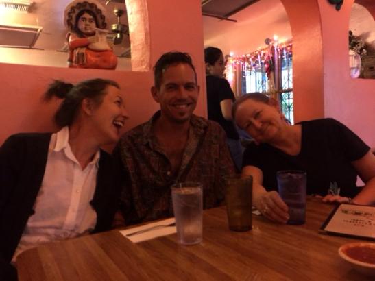 Kate Dustin and Sam
