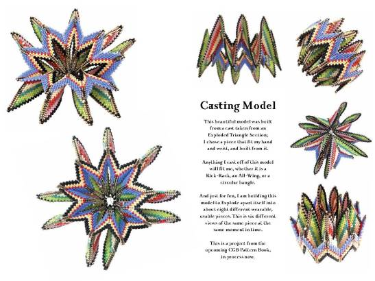 Casting Model Six views