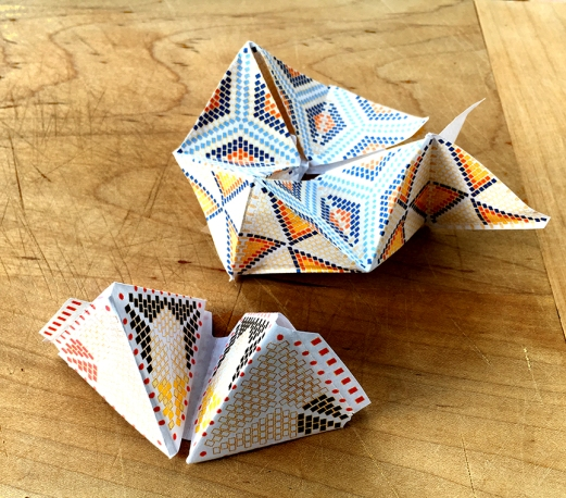 paper cycle folding 2