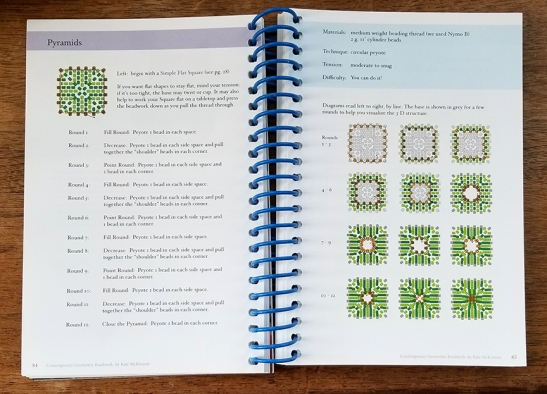 Pyramids pages in Book 1